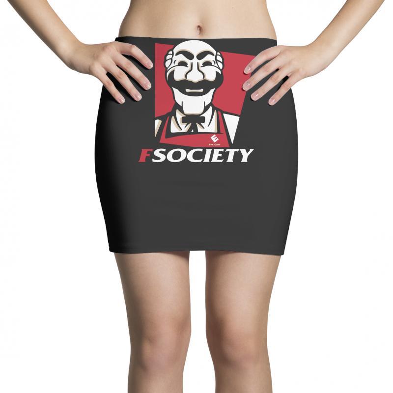 Fsociety Mini Skirts   Artistshot