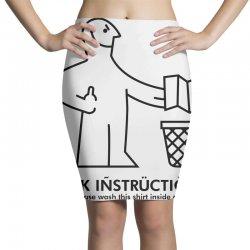 fuck instructions Pencil Skirts | Artistshot