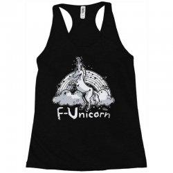 f unicorn Racerback Tank | Artistshot