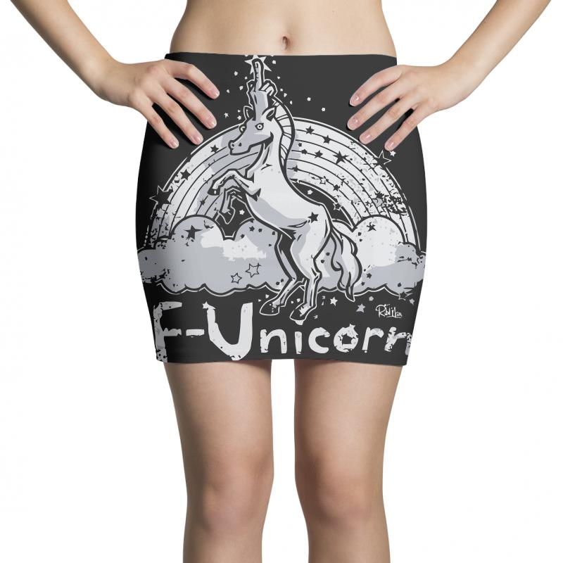 F Unicorn Mini Skirts | Artistshot