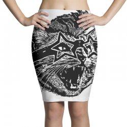 funky cat Pencil Skirts | Artistshot