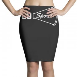 go sports funny Pencil Skirts   Artistshot