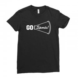 go sports funny Ladies Fitted T-Shirt   Artistshot