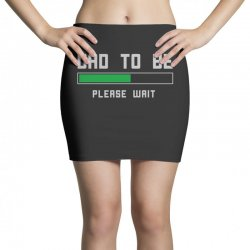 funny dad to be design Mini Skirts | Artistshot