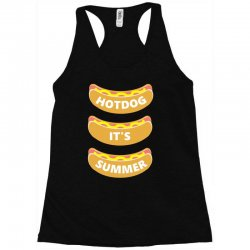 hot dog it's summer Racerback Tank | Artistshot