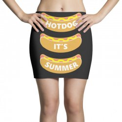 hot dog it's summer Mini Skirts | Artistshot