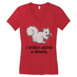 funny squirrel Women's V-Neck T-Shirt | Artistshot