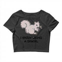 funny squirrel Crop Top | Artistshot