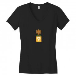 galaxy power up Women's V-Neck T-Shirt | Artistshot