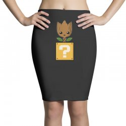 galaxy power up Pencil Skirts | Artistshot
