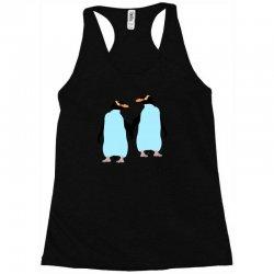 gay penguin couple Racerback Tank | Artistshot