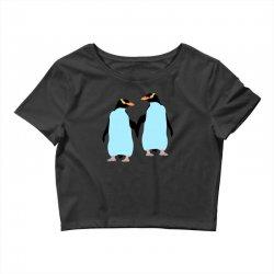 gay penguin couple Crop Top | Artistshot