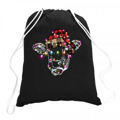 Christmas Cow Drawstring Bags Designed By Sengul