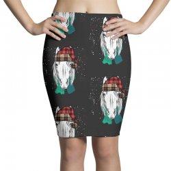 horse christmas Pencil Skirts | Artistshot