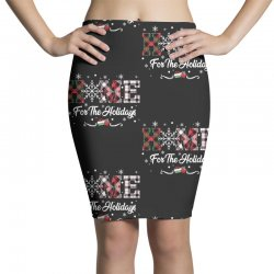home for the holidays Pencil Skirts | Artistshot