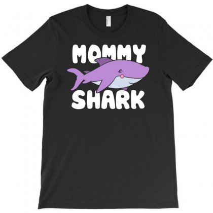 Mommy Shark Funny T-shirt Designed By Erryshop