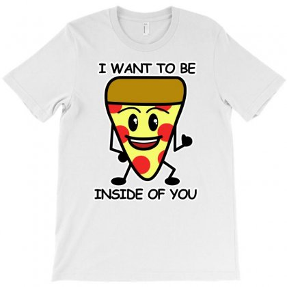 Pizza Inside T-shirt Designed By Erryshop