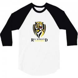tigers together afl logo 3/4 Sleeve Shirt | Artistshot