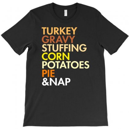 Thanksgiving Food T-shirt Designed By Erryshop