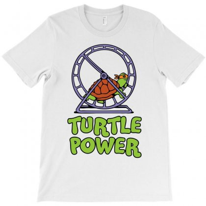 Turtle Power Funny T-shirt Designed By Erryshop