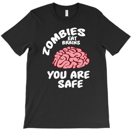 Zombies Eat Brains T-shirt Designed By Erryshop