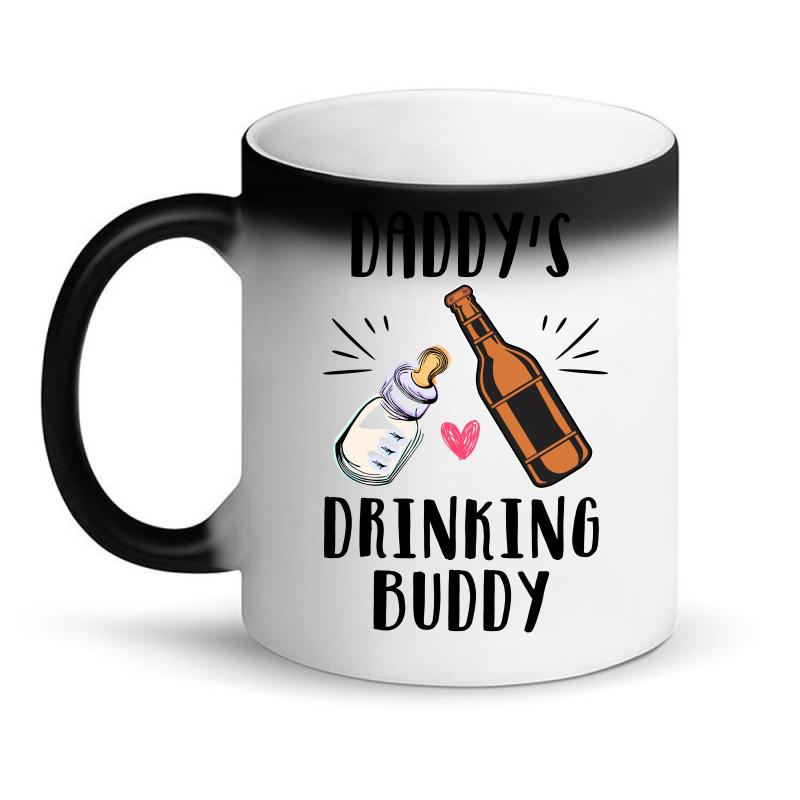 Daddy's Drinking Buddy Magic Mug | Artistshot