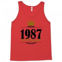 vintage 1987 and still looking good Tank Top | Artistshot