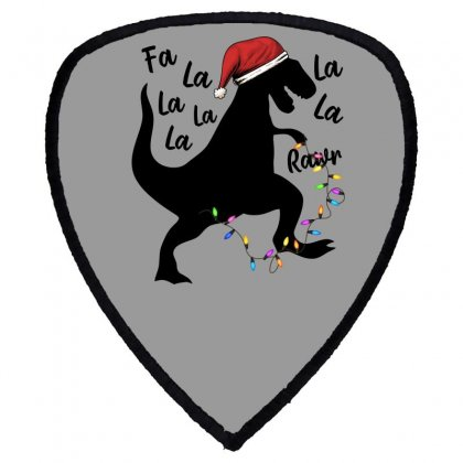 T-rex Holiday For Light Shield S Patch Designed By Sengul