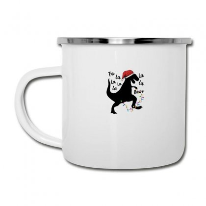 T-rex Holiday For Light Camper Cup Designed By Sengul