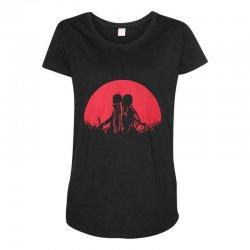 sword art Maternity Scoop Neck T-shirt   Artistshot