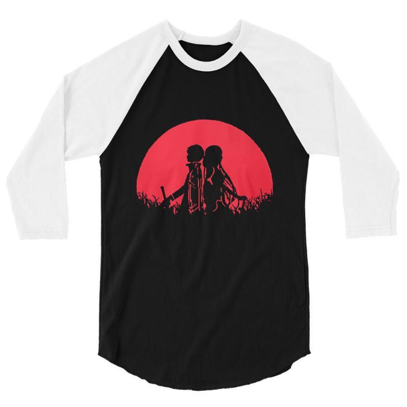 Sword Art 3/4 Sleeve Shirt | Artistshot