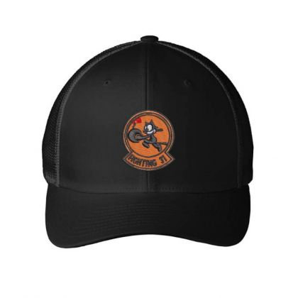 Fighting 31 Embroidered Mesh Cap Designed By Madhatter