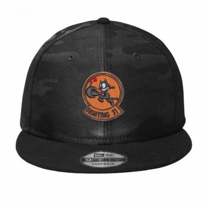 Fighting 31 Camo Snapback Designed By Madhatter