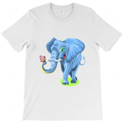 Happy Elephant T-shirt Designed By Zein