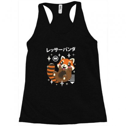 Kawaii Red Panda Racerback Tank Designed By Acoy