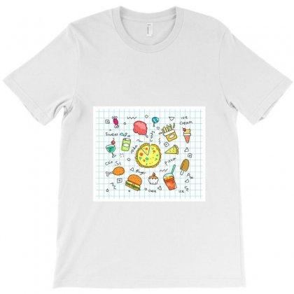 Favorite Foods T-shirt Designed By Zein