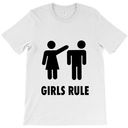 Girl Vs Boy T-shirt Designed By Zein