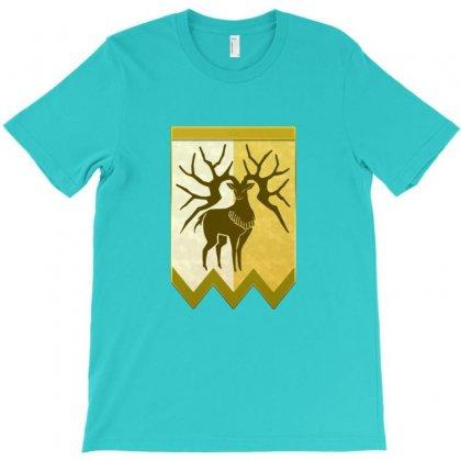 Golden Deer Emblem T-shirt Designed By Irawan