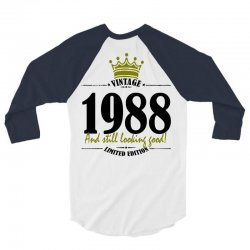 vintage 1988 and still looking good 3/4 Sleeve Shirt | Artistshot