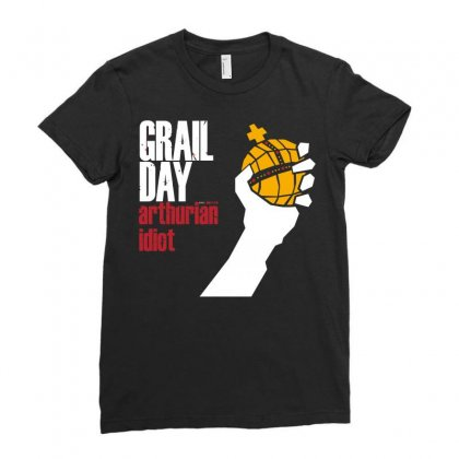 Grail Day Ladies Fitted T-shirt Designed By B4en1