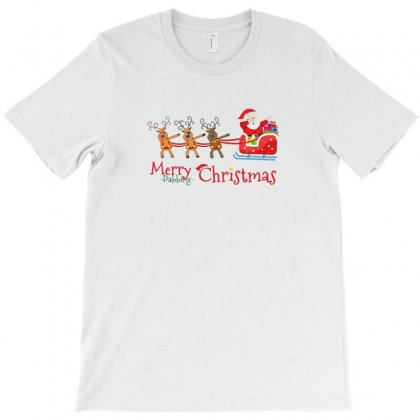 Dabbing Santa T-shirt Designed By Irawan