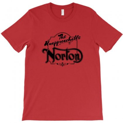 Norton Motorcycles Logo T-shirt Designed By Irawan