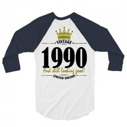 vintage 1990 and still looking good 3/4 Sleeve Shirt | Artistshot