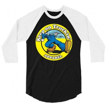 1973 Keep On Truckin R Crumb Rats Hole Shaggin Love Wagon 3/4 Sleeve Shirt Designed By Pujangga45