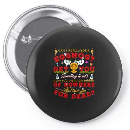 Can I Refill Your Eggnog Pin-back Button Designed By Neset