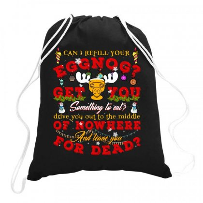 Can I Refill Your Eggnog Drawstring Bags Designed By Neset