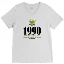 vintage 1990 and still looking good V-Neck Tee | Artistshot