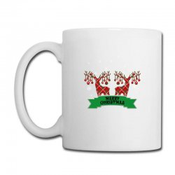 Merry Christmas Reindeer Coffee Mug Designed By Neset