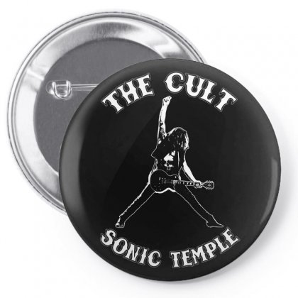 1989 The Cult Sonic Temple Tour Band Rock 80 Pin-back Button Designed By Pujangga45