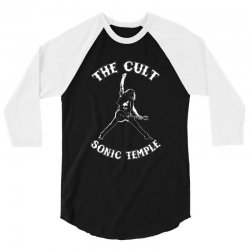 1989 the cult sonic temple tour band rock 80 3/4 Sleeve Shirt | Artistshot
